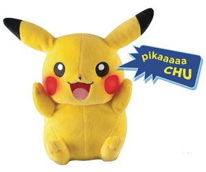 Pokemon My Friend Pikachu Plush Case