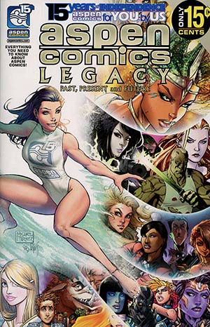 Aspen Comics Legacy 15th Anniversary One Shot