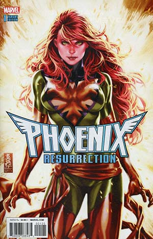 Phoenix Resurrection Return Of (Adult) Jean Grey #1 Cover L DF Comic Sketch Art Exclusive Mark Brooks Variant Cover (Marvel Legacy Tie-In)