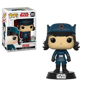 POP Star Wars 205 The Last Jedi Rose In Disguise Vinyl Bobble Head