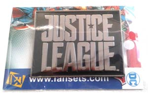 Justice League Movie Enamel Pin - Logo