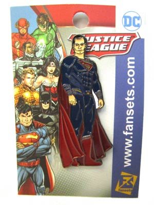 Justice League Movie Enamel Pin - Superman