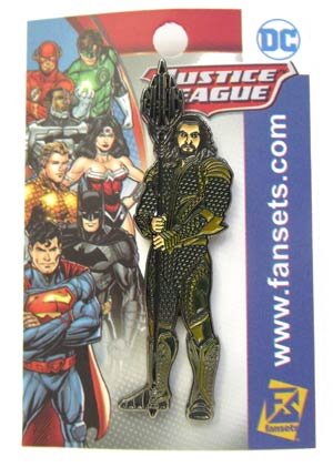 Justice League Movie Enamel Pin - Aquaman