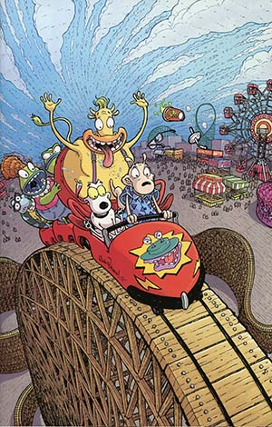 Rockos Modern Life Vol 2 #1 Cover E Incentive Nick Pitarra Virgin Variant Cover