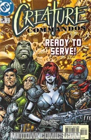 Creature Commandos #3