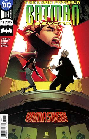 Batman Beyond Vol 6 #17 Cover A Regular Bernard Chang Cover
