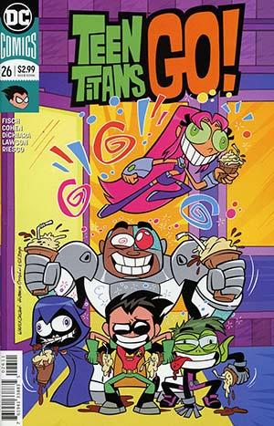 Teen Titans Go Vol 2 #26