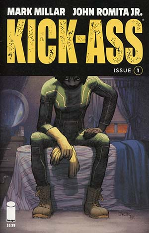 Kick-Ass Vol 4 #1 Cover A 1st Ptg Regular John Romita Jr Color Cover