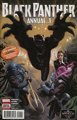 Black Panther Vol 6 Annual #1 Cover A Regular Daniel Acuna Cover (Marvel Legacy Tie-In)