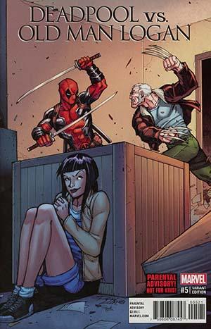 Deadpool vs Old Man Logan #5 Cover B Variant Ron Lim Cover