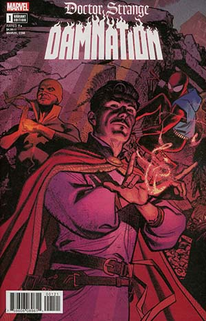 Doctor Strange Damnation #1 Cover B Variant Greg Smallwood Connecting Cover (Marvel Legacy Tie-In)