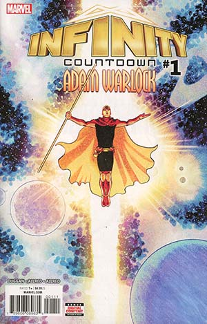 Infinity Countdown Adam Warlock #1 Cover A 1st Ptg Regular Aaron Kuder Cover (Marvel Legacy Tie-In)