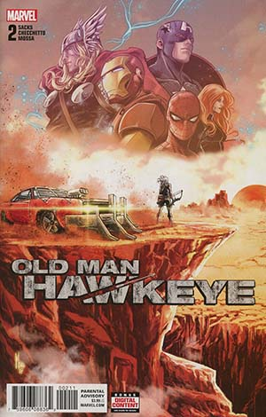 Old Man Hawkeye #2 Cover A 1st Ptg Regular Marco Checchetto Cover (Marvel Legacy Tie-In)