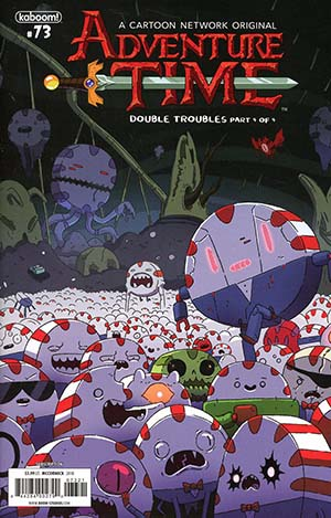 Adventure Time #73 Cover B Variant Joey McCormick Subscription Cover