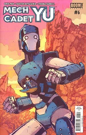 Mech Cadet Yu #6 Cover A Regular Takeshi Miyazawa Cover