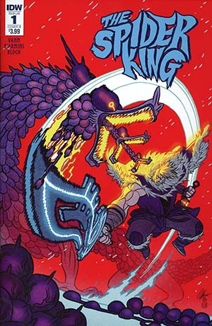 Spider King #1 Cover B Variant Afu Chan Cover