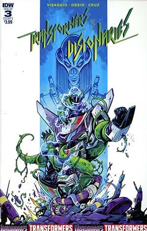 Transformers vs Visionaries #3 Cover A Regular Fico Ossio Cover