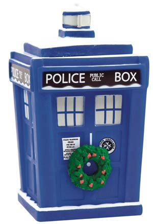 Doctor Who Titans Holiday TARDIS 4.5-Inch Vinyl Figure