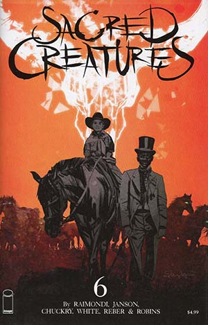 Sacred Creatures #6 Cover C Incentive Tommy Lee Edwards Variant Cover