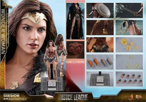 Justice League Wonder Woman Movie Masterpiece Deluxe 11.41-Inch Action Figure