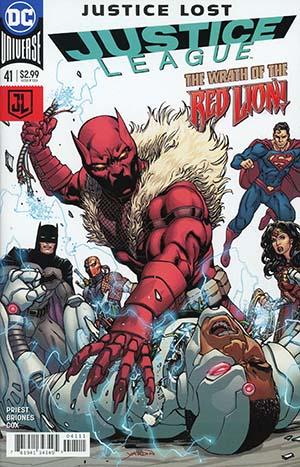 Justice League Vol 3 #41 Cover A Regular David Yardin Cover