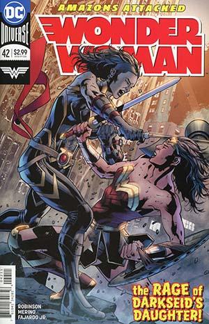Wonder Woman Vol 5 #42 Cover A Regular Bryan Hitch Cover
