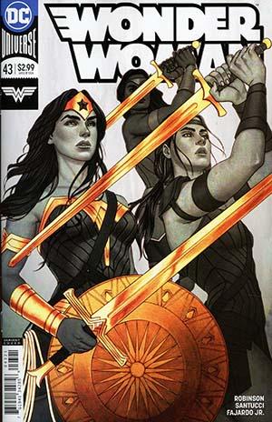 Wonder Woman Vol 5 #43 Cover B Variant Jenny Frison Cover