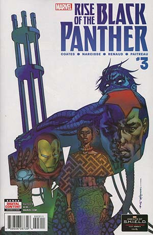 Rise Of The Black Panther #3 Cover A Regular Brian Stelfreeze Cover (Marvel Legacy Tie-In)