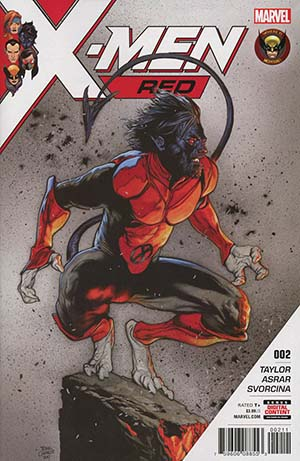 X-Men Red #2 Cover A 1st Ptg Regular Travis Charest Cover (Marvel Legacy Tie-In)