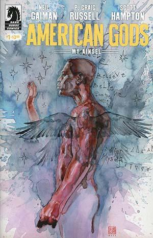 American Gods My Ainsel #1 Cover B Variant David Mack Cover