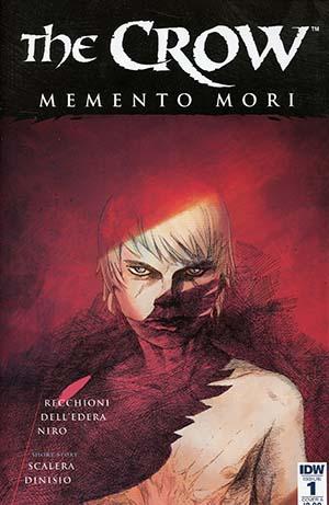 Crow Memento Mori #1 Cover A Regular Werther Dell Edera Cover