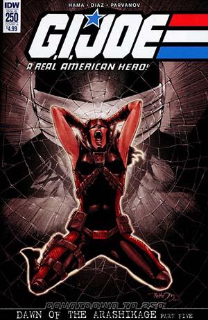 GI Joe A Real American Hero #250 Cover A Regular Netho Diaz Cover