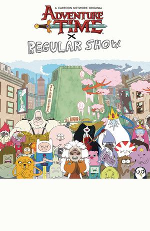 Adventure Time x Regular Show TP