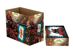 Marvel Comics Deadpool Bang Short Comic Storage Box 5-Pack