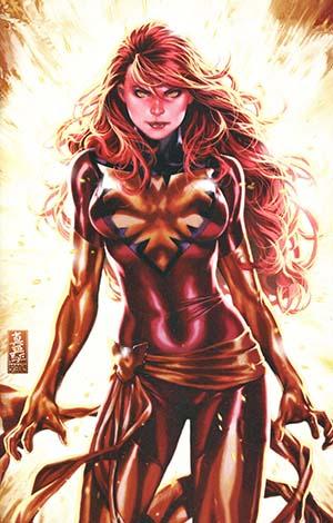 Phoenix Resurrection Return Of (Adult) Jean Grey #1 Cover Q DF Comic Sketch Art Exclusive Mark Brooks White Costume Virgin Cover