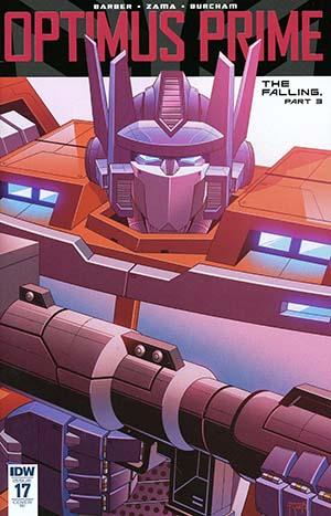 Optimus Prime #17 Cover C Incentive Thomas Deer Variant Cover