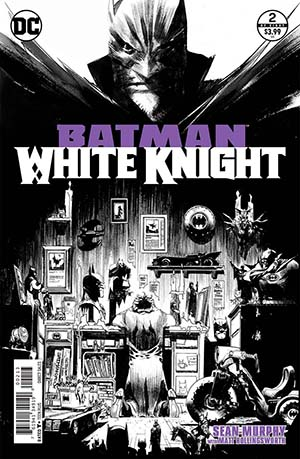 Batman White Knight #2 Cover D 3rd Ptg Variant Sean Murphy Cover