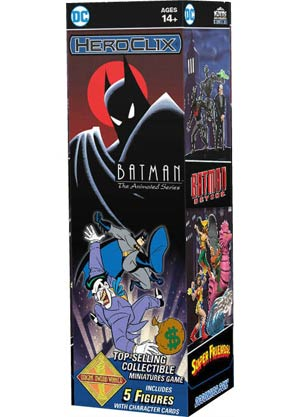 DC HeroClix Batman The Animated Series Booster Pack