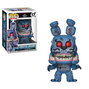 POP Books 17 Five Nights At Freddys Twisted Bonnie Vinyl Figure