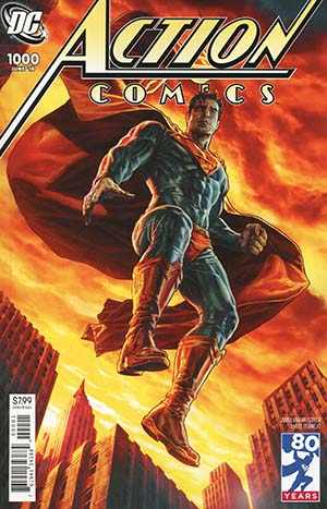 Action Comics Vol 2 #1000 Cover I Variant Lee Bermejo 2000s Cover