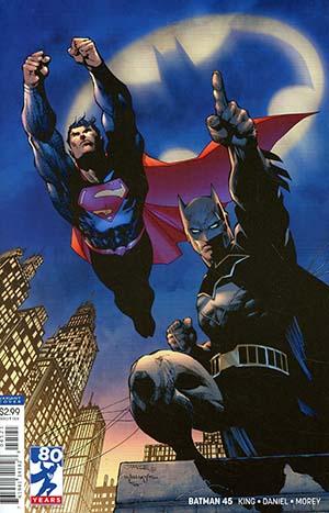 Batman Vol 3 #45 Cover B Variant Jim Lee Cover (Limit 1 Per Customer)