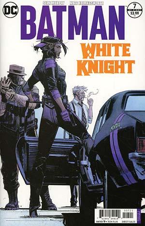 Batman White Knight #7 Cover B Variant Sean Murphy Cover