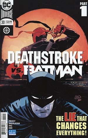 Deathstroke Vol 4 #30 Cover A Regular Lee Weeks Cover