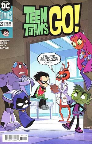 Teen Titans Go Vol 2 #27