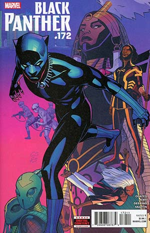 Black Panther Vol 6 #172 Cover A Regular Brian Stelfreeze Cover