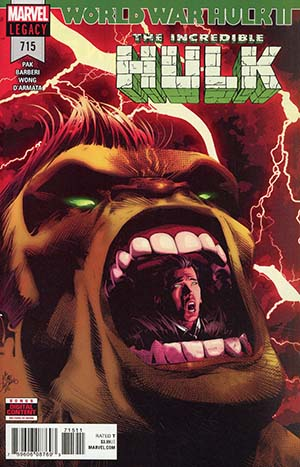 Incredible Hulk Vol 4 #715
