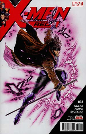 X-Men Red #3 Cover A Regular Travis Charest Cover