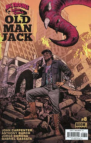 Big Trouble In Little China Old Man Jack #8 Cover A Regular Greg Smallwood Cover