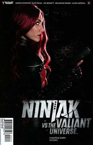 Ninjak vs The Valiant Universe #4 Cover C Variant Photo Cover