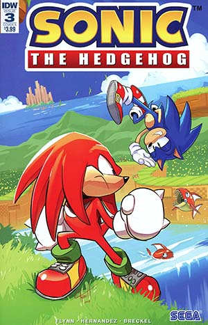 Sonic The Hedgehog Vol 3 #3 Cover A 1st Ptg Regular Tyson Hesse Cover
